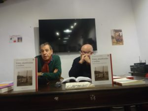 Naharro-Calderón, durante su intervención.