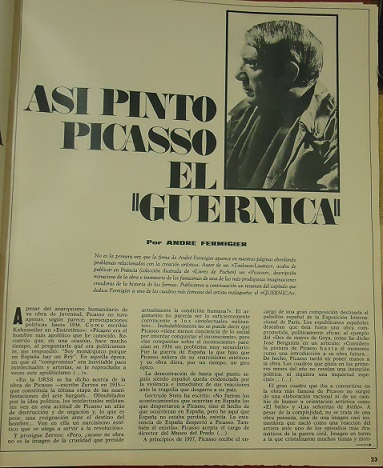 Artículo de Triunfo de 18 de octubre de 1969.