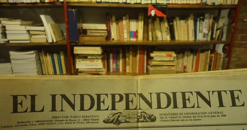 El Independiente, cuya colección de 1988 y 1989 conserva el Archivo de la Casa de la Memoria.