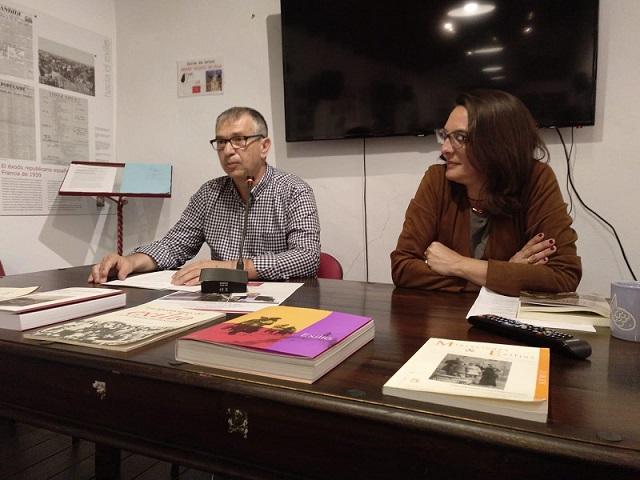 José Beneroso y Belén López Collado.