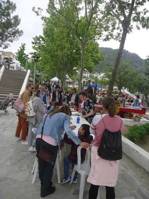 Feria del Libro de Ubrique el 4 de mayo de 2019.