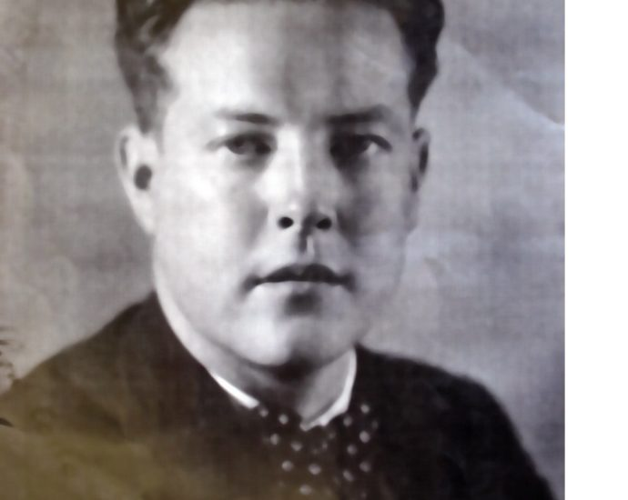 Daniel Candel (Foto del libro 'Los hermanos de mi taller', de Jesús Castro García).
