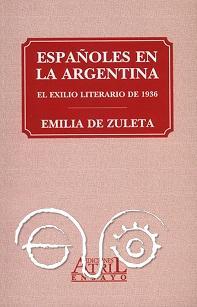 Cubierta del libro de Emilia de Zuleta, incorporado a la biblioteca digital de la Casa de la Memoria.
