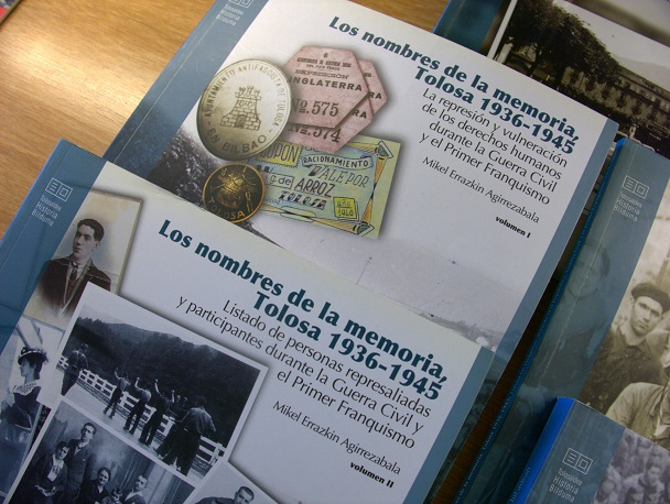 Libros de memoria histórica.
