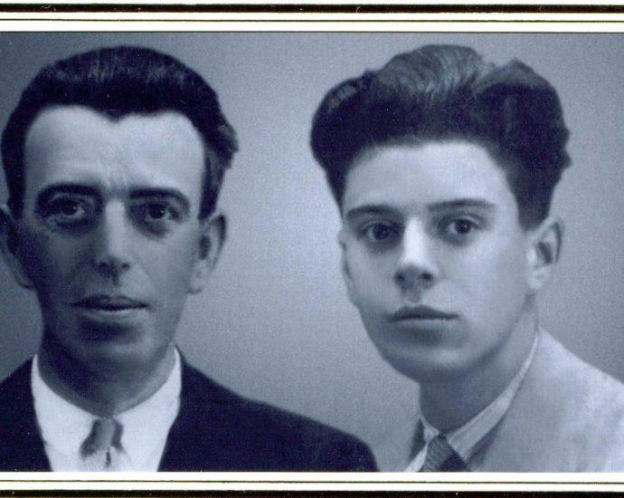 Manuel Arenas Guerrero, El Americano, y su hijo Manuel, que se exilió en Argentina, de donde nunca volvió a España.