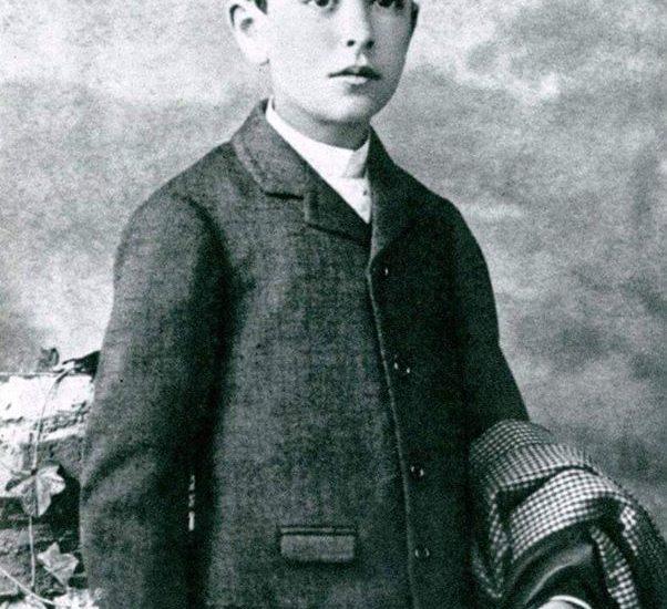 Fotografía de Manuel de Falla niño (Archivo Histórico Provincial de Cádiz).