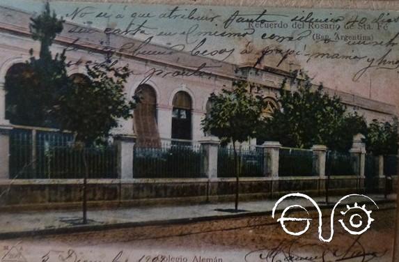 Postal enviada por Manuel Arenas Guerrero desde Argentina.