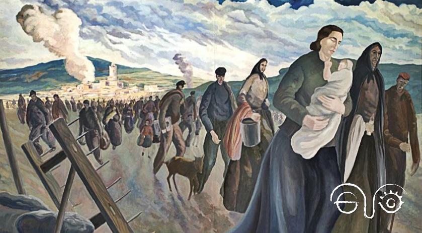 Camino del exilio (1943). CAT ANC1-539-N19/Fons Josep Franch-Clapers