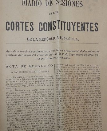 Ejemplar del Diario de Sesiones de 17 de junio de 1932.