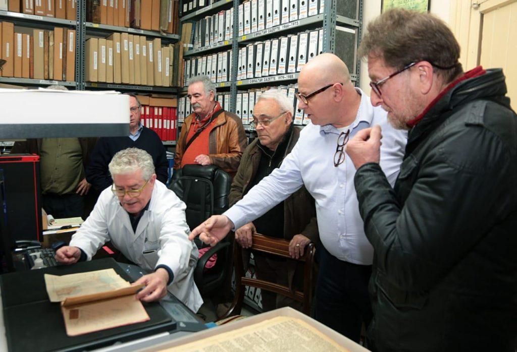 Prácticas en The Gibraltar National Archives.