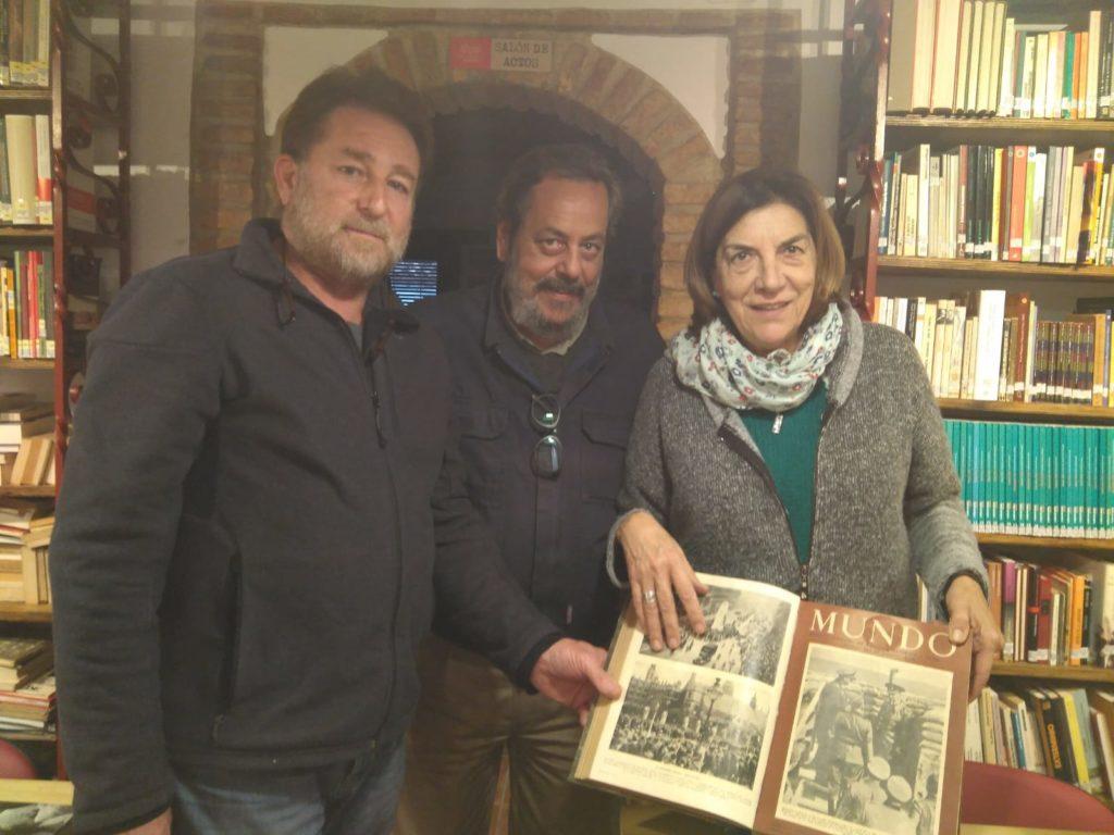Donación de la colección de la revista Mundo, por Nieves García Benito.