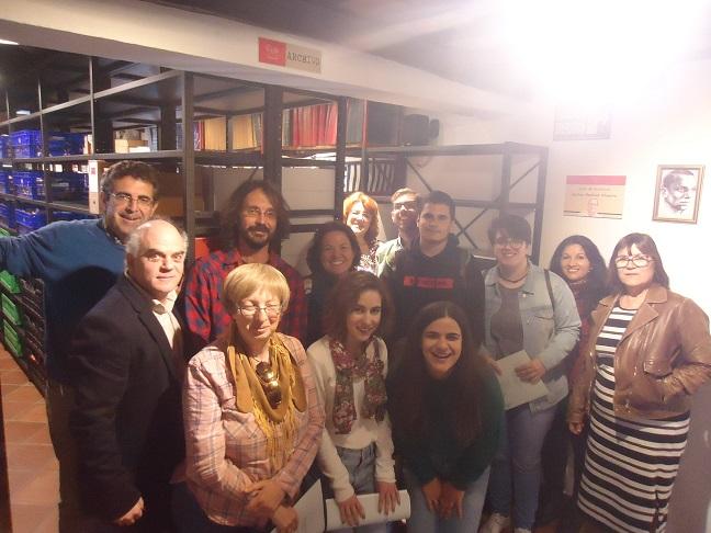 Participantes en el Taller de archivística.