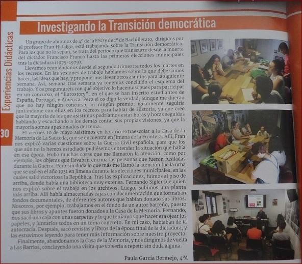 Noticia en Sierra Luna.