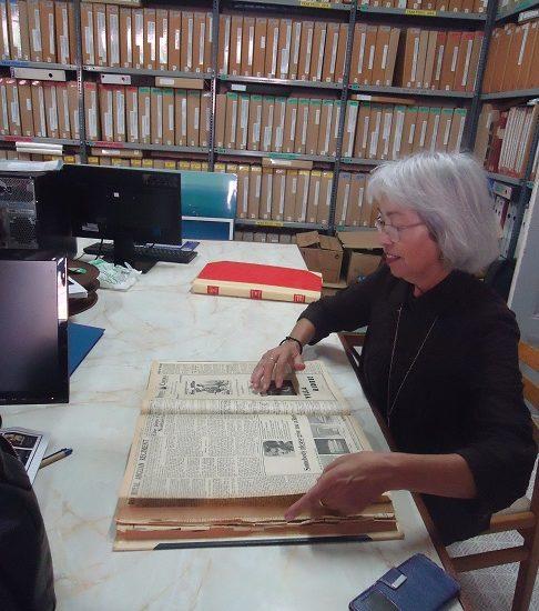 Margrita García Díez, en The Gibraltar National Archives.