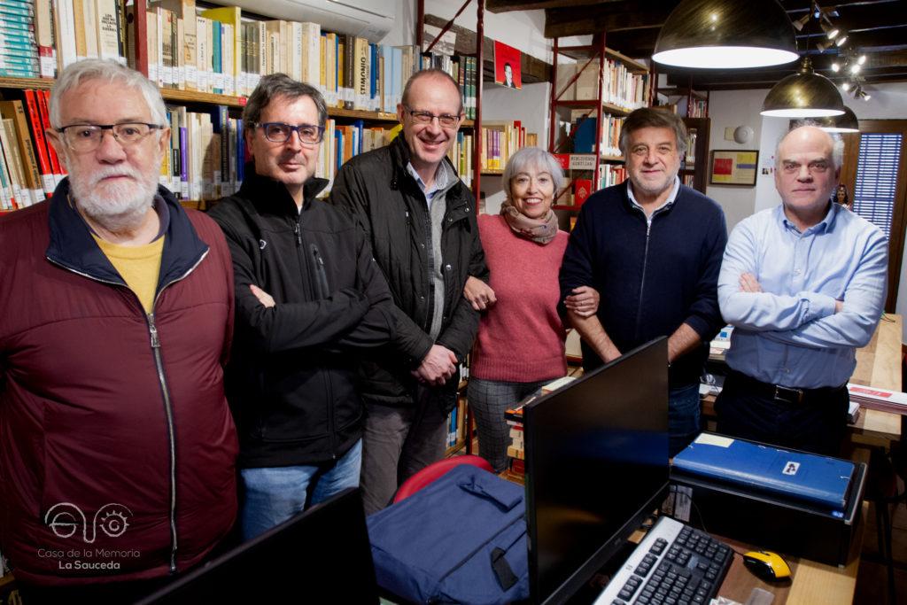 Algunos de los miembros del Comité Científico.