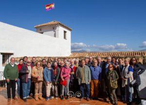 Integrantes de la Asociación Casa de la Memoria tras la sesión constitutiva.