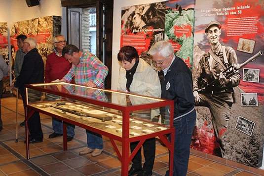 Exposición permanente de la Casa de la Memoria.