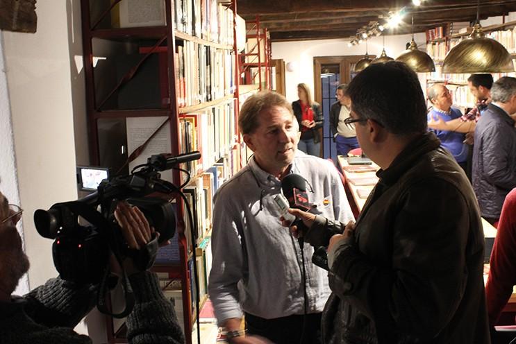 Entrevista al presidente del Foro por la Memoria del Campo de Gibraltar, Andrés Rebolledo.