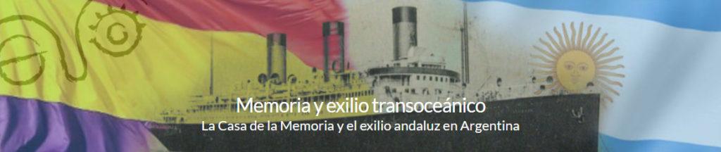 Memoria y exilio transoceánico.