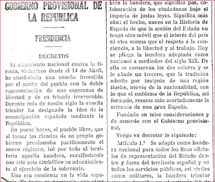 Gaceta de Madrid, 28/6/1931.