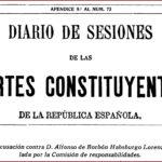 Diario de Sesiones de las Cortes Constituyentes nº 73, 12/11/1931 (apéndice 9).