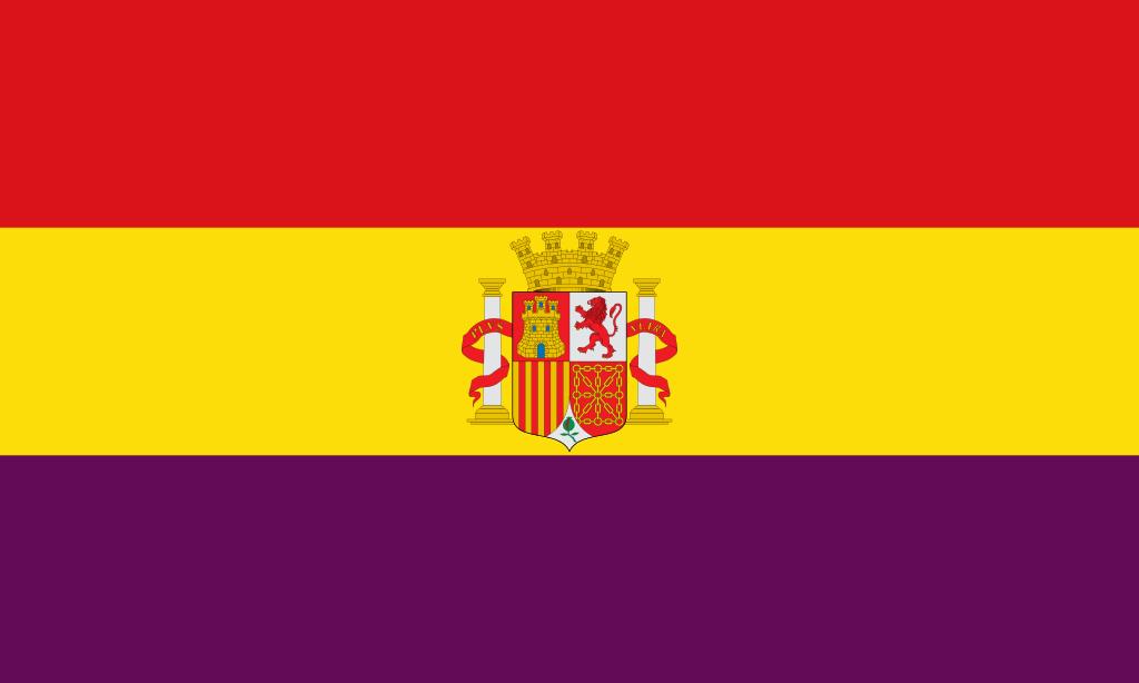 Bandera de la Segunda República.