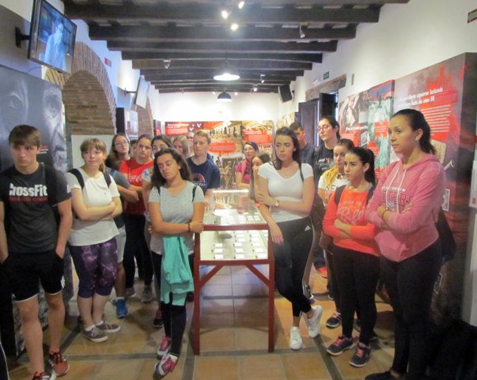 Visita de estudiantes alemans.