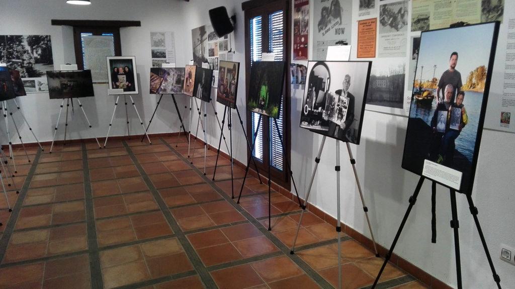 Materiales de la exposición.