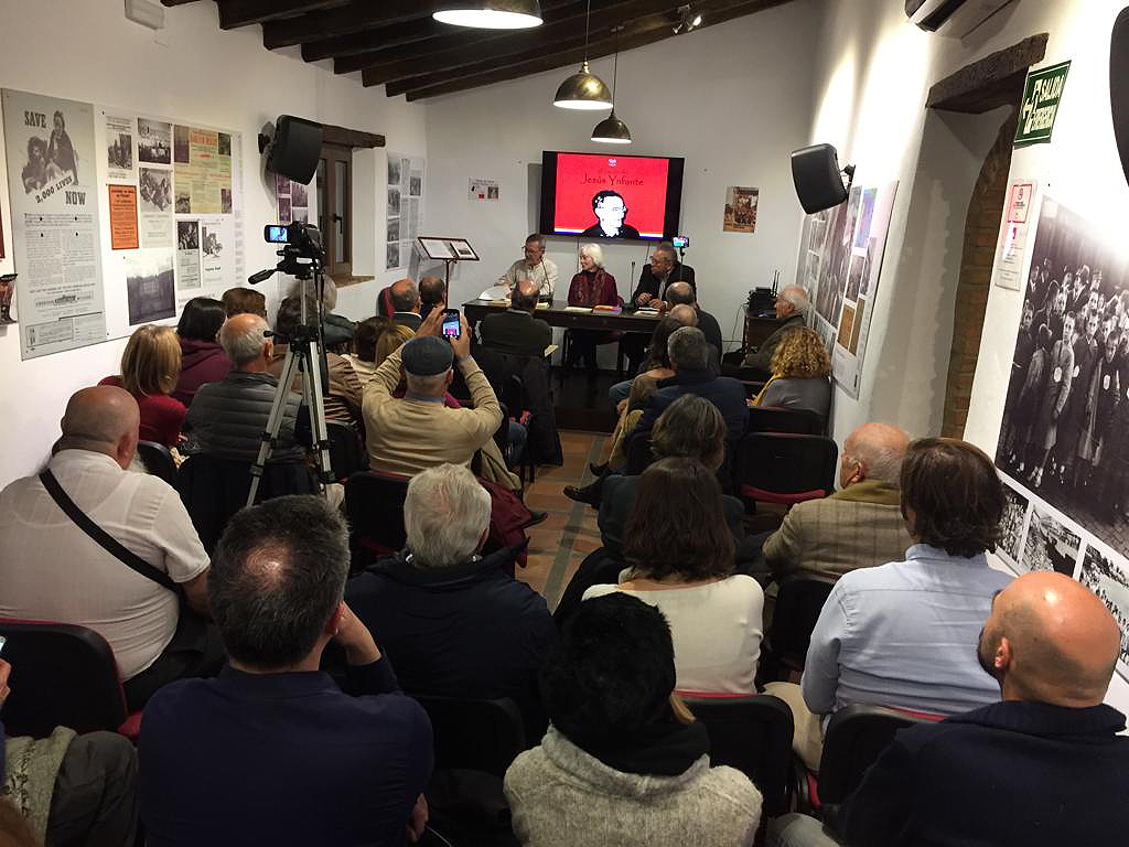 Intervenciones de Pilar Infante y Pablo Bianchi.