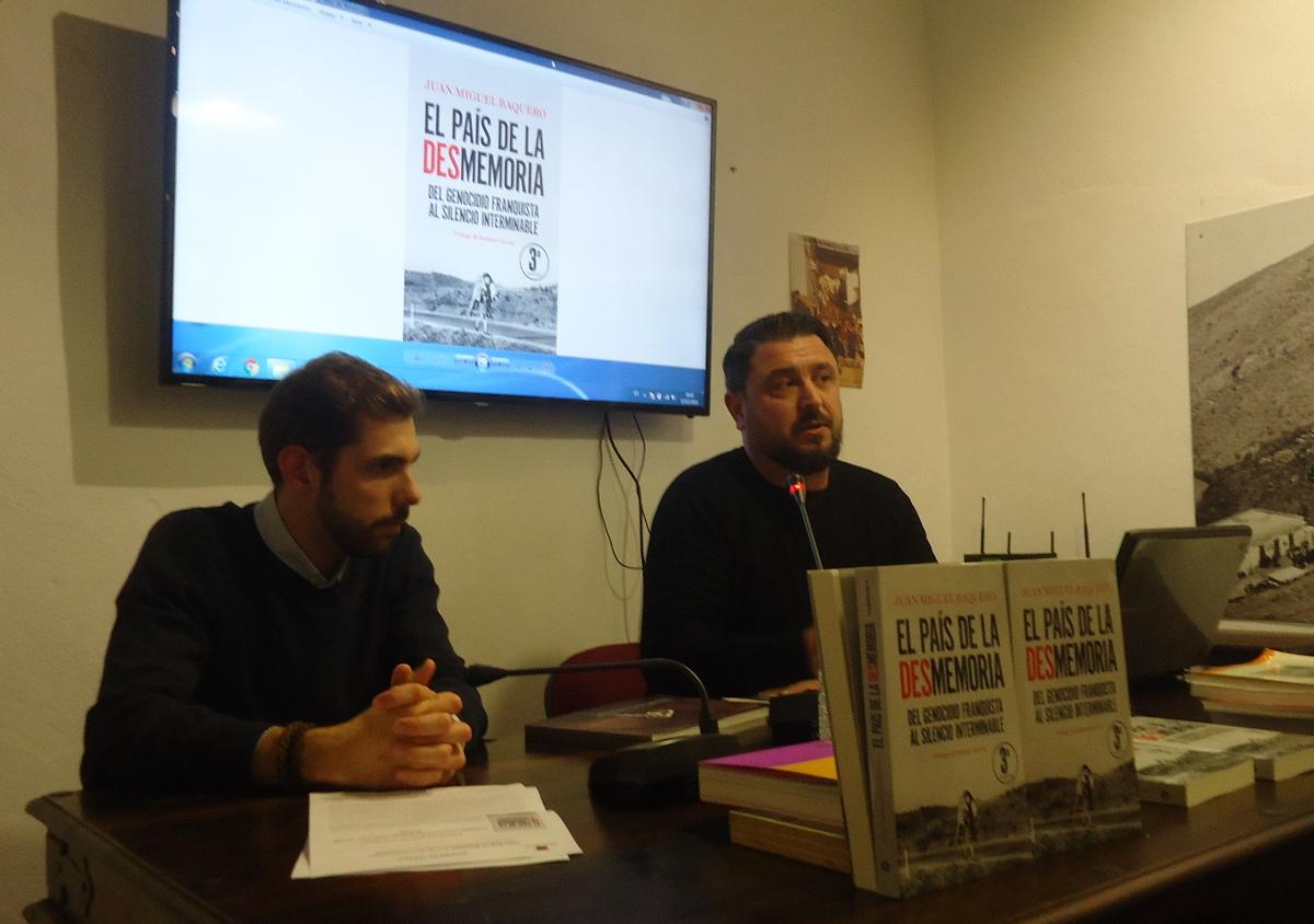 Juan Miguel Baquero y Fran Hidalgo.