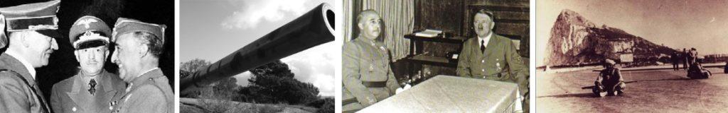 Franco, con Hitler.