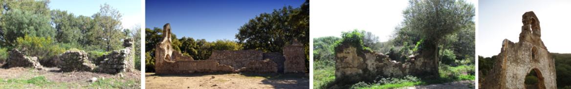 Restos del poblado de La Sauceda.