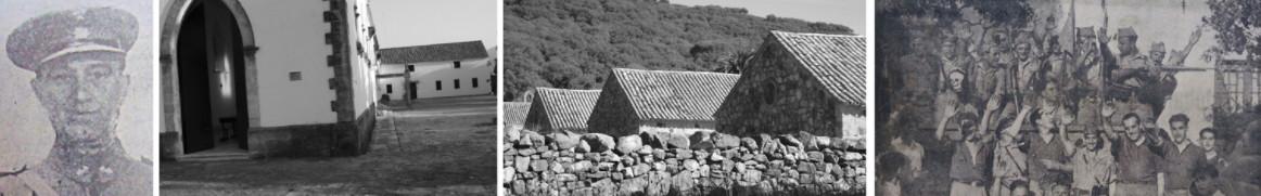 Imágenes sobre el campo de concentración de El Marrufo.