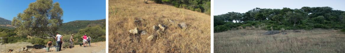 Lugar donde se localizaron las fosas comunes en El Marrufo.