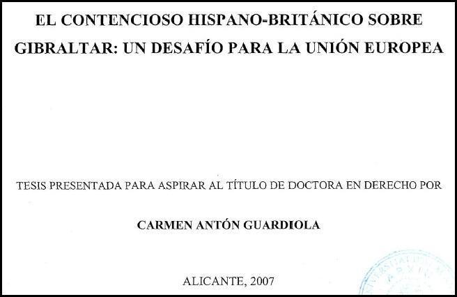 Portada de la tesis doctoral.