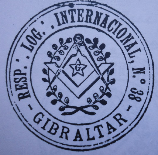 Sello de Internacional.