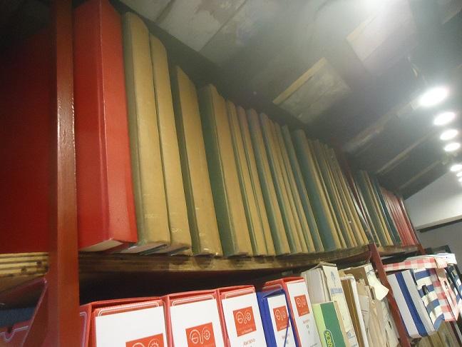 Colección de la revista Triunfo en el Archivo de la Casa de la Memoria.