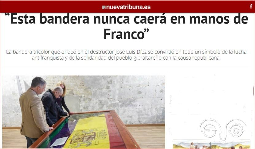 Captura del artículo de Nueva Tribuna.
