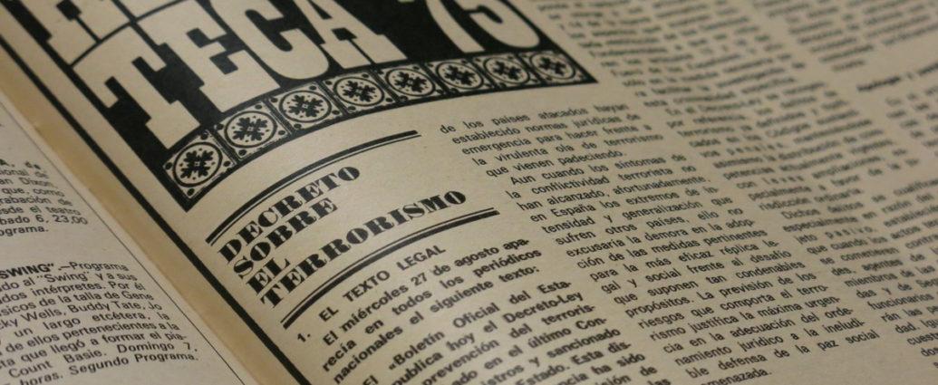 Extracto del decreto publicado por el semanario Triunfo.