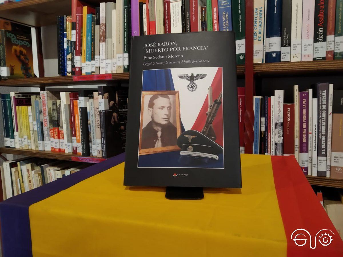 Portada del libro José Barón, muerto por Francia.