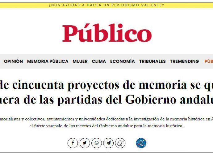 Titular del reportaje.