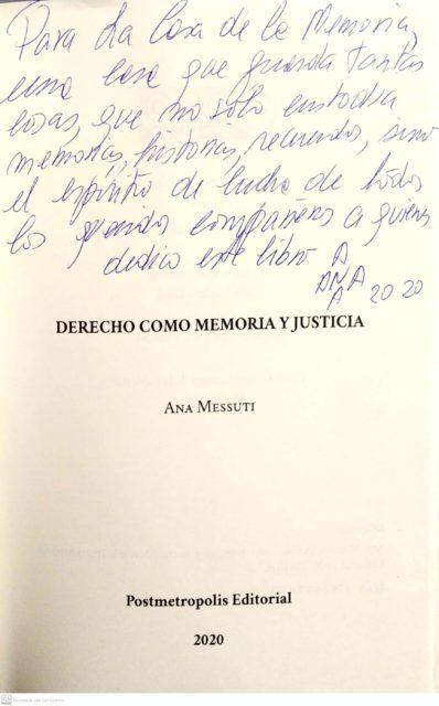 2020-11-04-Dedicatorialibro-Derechocomomemoriayjusticia