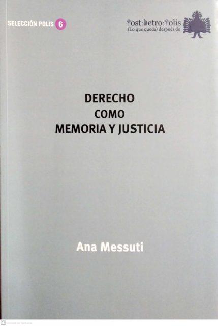 2020-11-04-Portadalibro-Derechocomomemoriayjusticia
