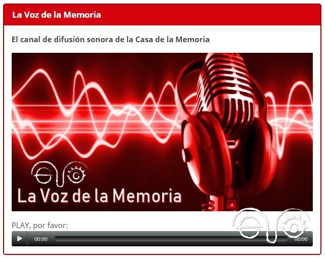 La Voz de la Memoria.