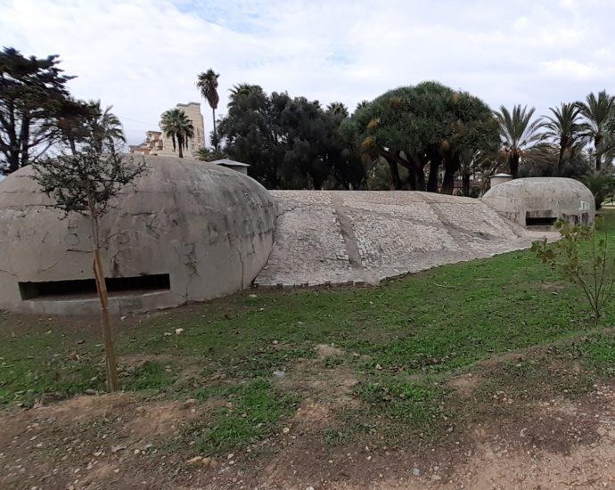 Bunker en La Línea