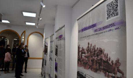 Exposición sobre los prisioneros.