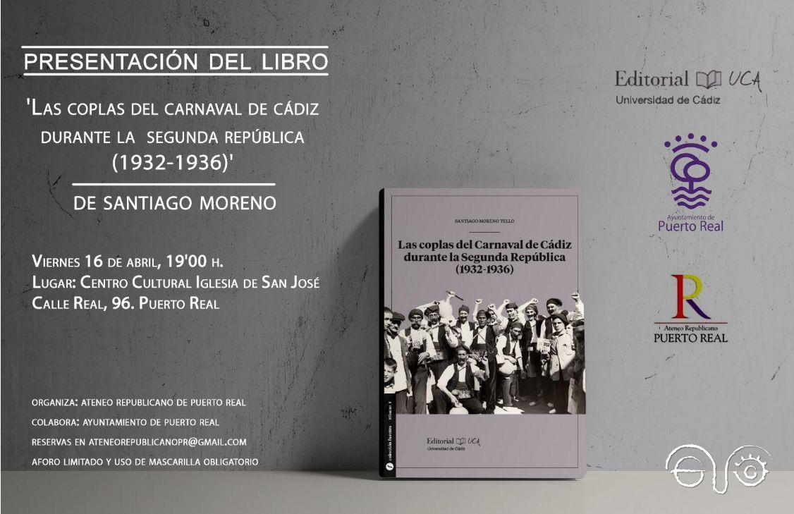 Invitación a la presentación del libro.