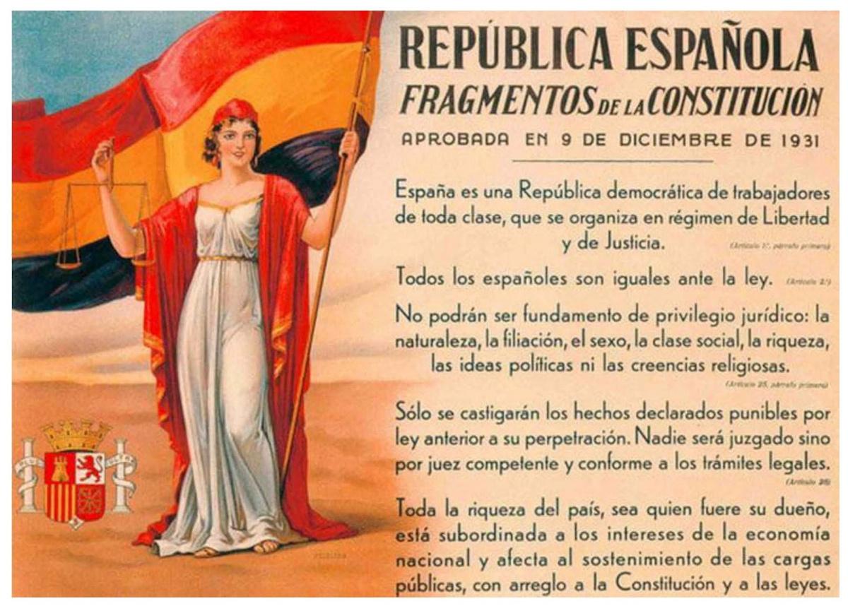 Constitución Segunda República 1931