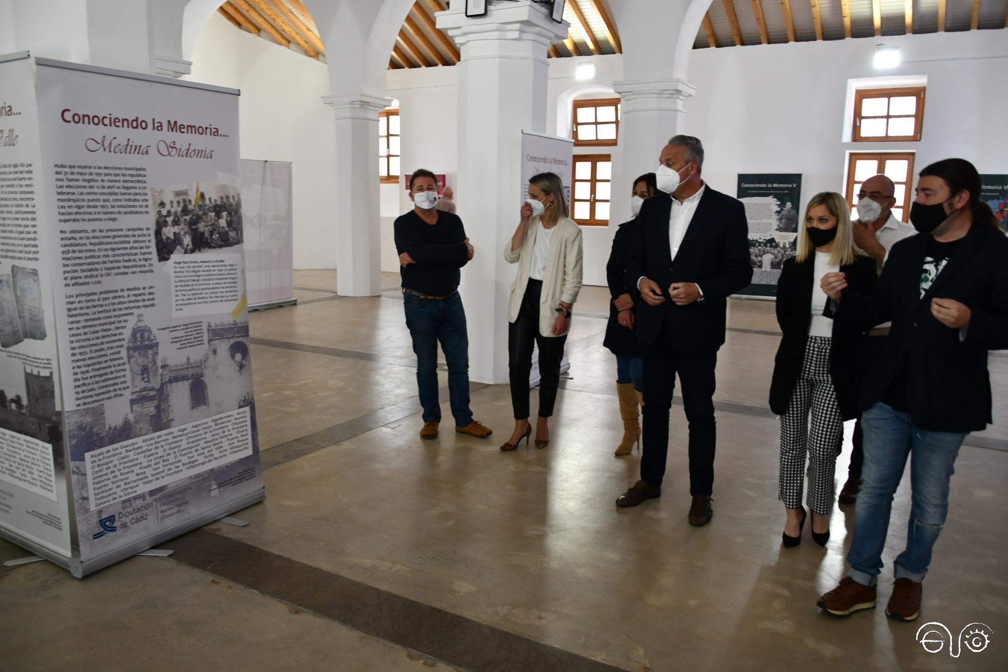 Exposición del aula Itinerante de Memoria Democrática.