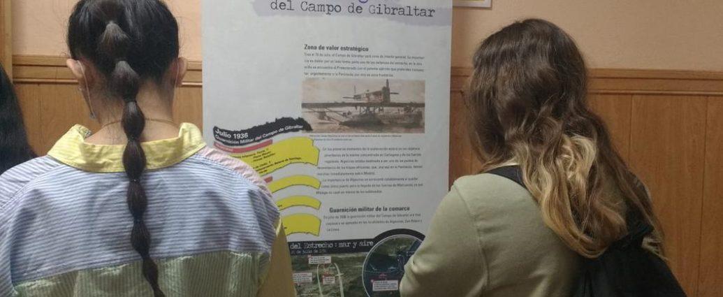 Exposición instalada en el IES Los Remedios de Ubrique.
